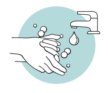 wash hands before using your mooncup icon