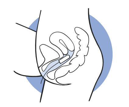 position of tampon icon