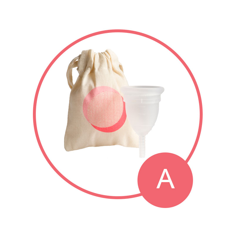 Size A Mooncup Menstrual Cup