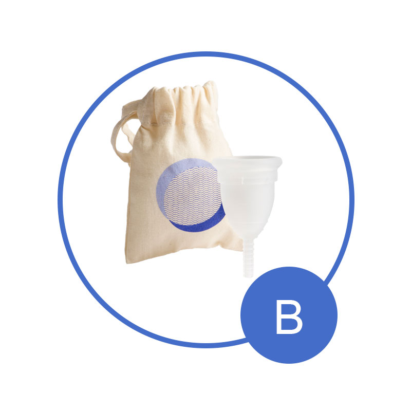 Size B Mooncup Menstrual Cup