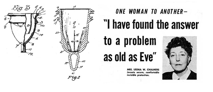 Leona Chalmers, inventor of the menstrual cup