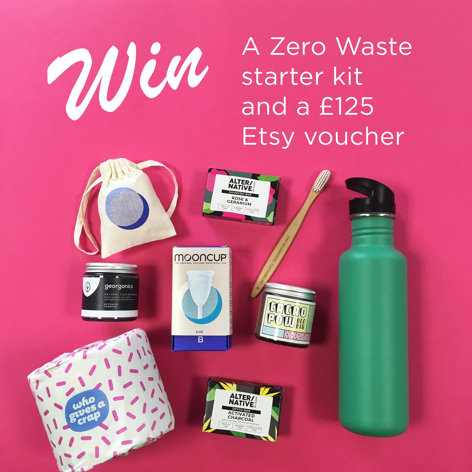 ZERO WASTE HAMPER WITH MOONCUP