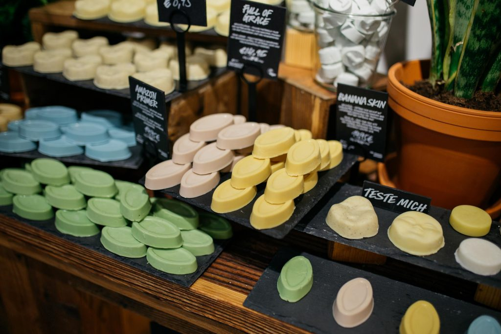 Lush naked products
