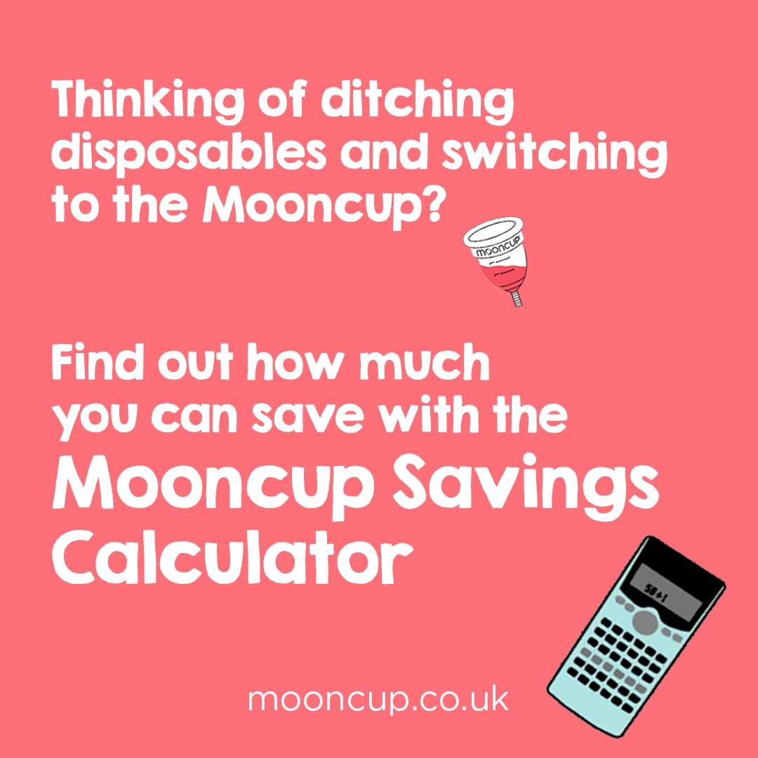 Mooncup Savings Calculator