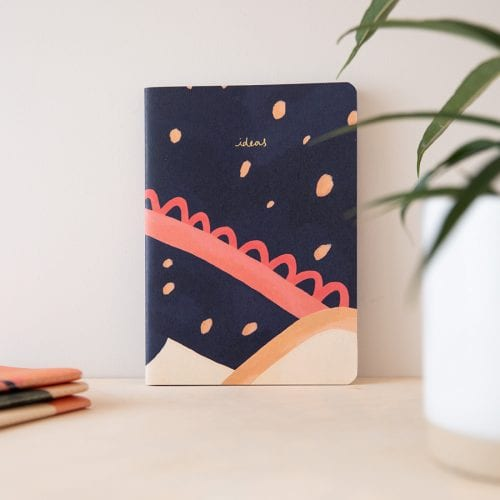 VENT for change notebook made from 100% recycled & sustainable materials