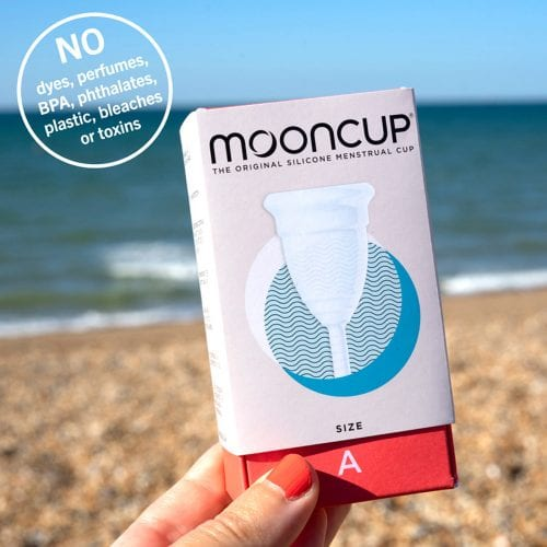 The Mooncup contains no toxins